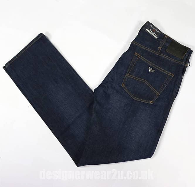 9bd83fbb5dce Armani Jeans Armani Dark Blue Jeans J21 Fit - Jeans from ...