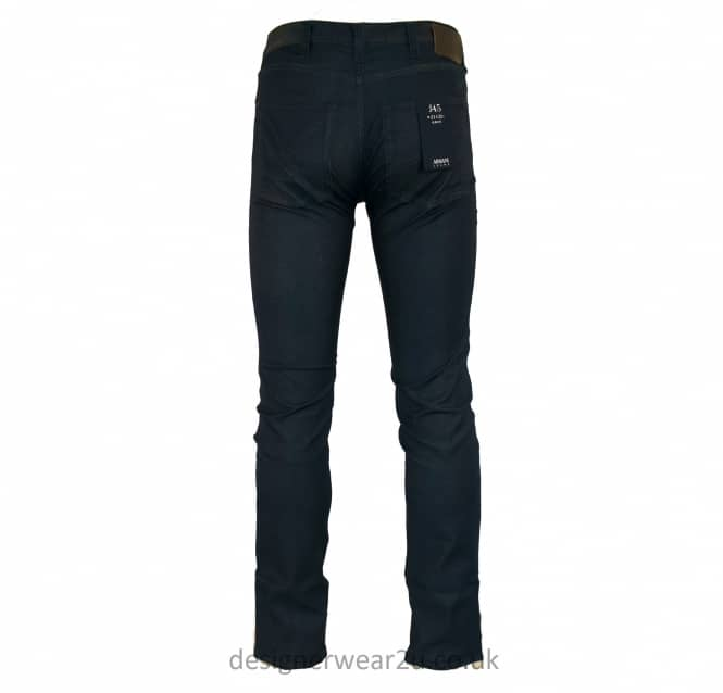 Armani Jeans Armani Navy Slim Fit Cotton Stretch Jeans in J45 Fit