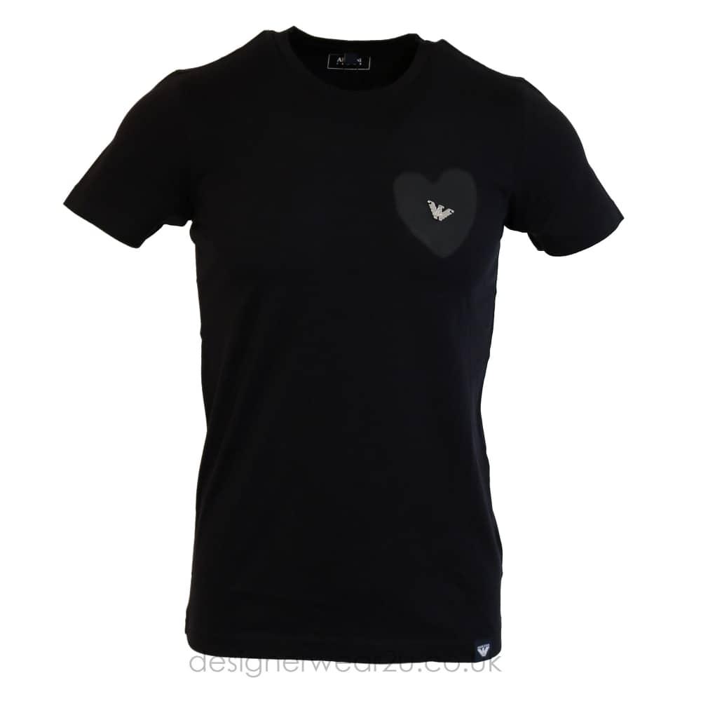 Armani Jeans Logo T Shirt