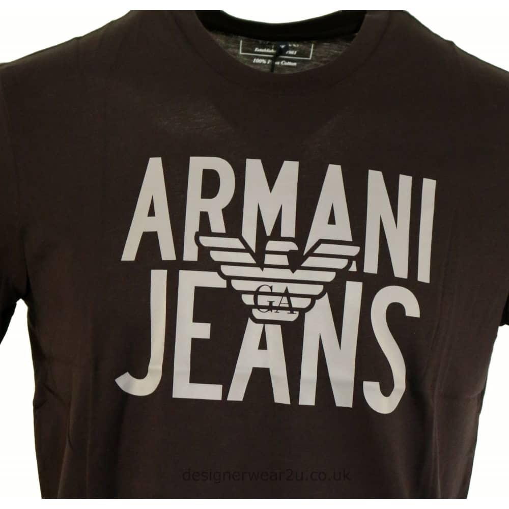 Armani Jeans Black T Shirt