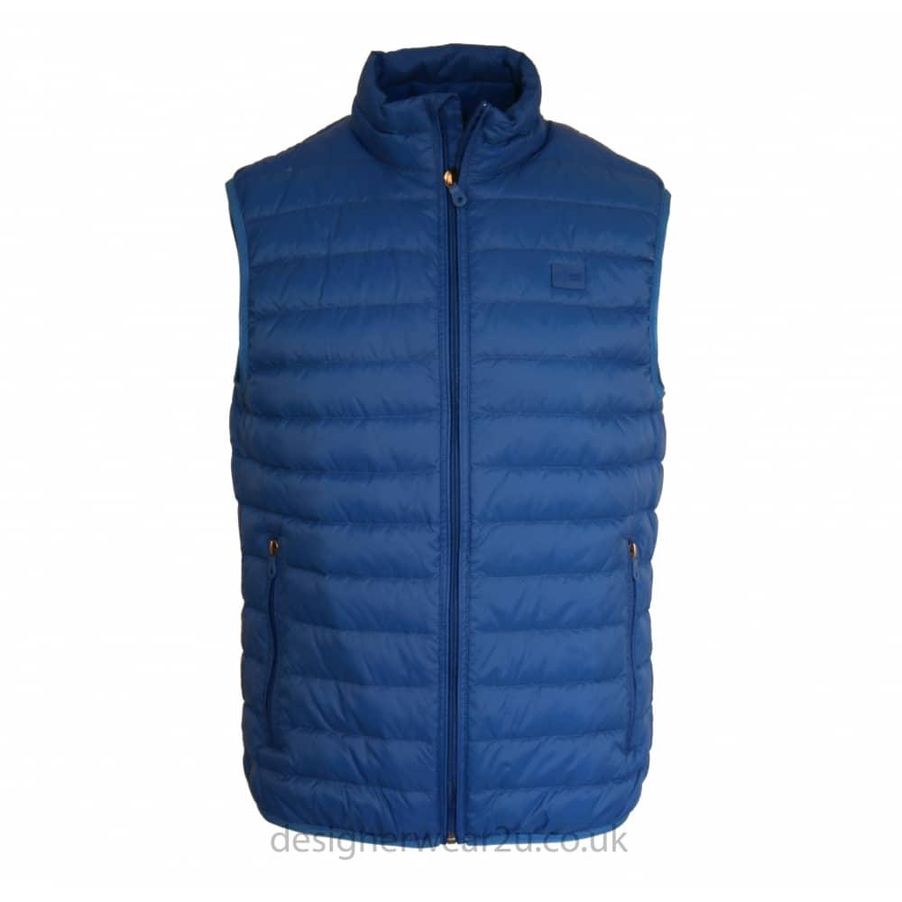 Down Jeans Blue Ultra Light Duck Padded Armani Gilet Aj3L4R5q
