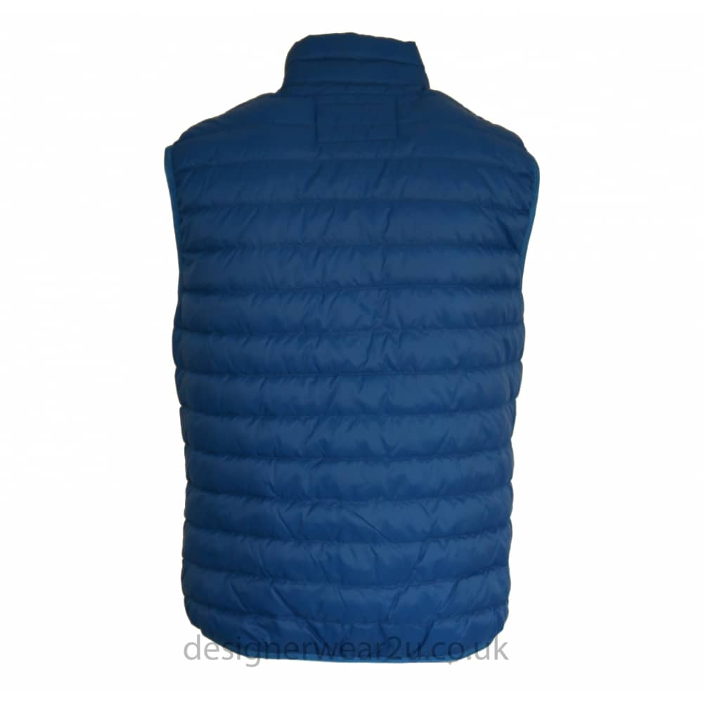 20b9eae5 Armani Jeans Armani Jeans Blue Ultra Light Duck Down Padded Gilet