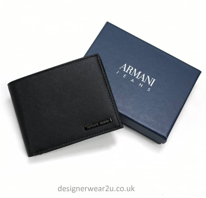 Armani Jeans Armani Jeans Classic Wallet With Metal Logo