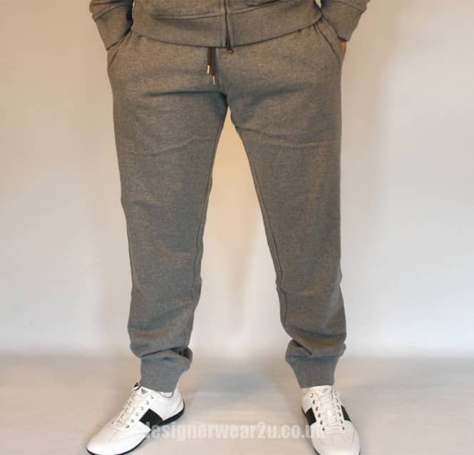 latest collection online here meet Armani Jeans Armani Jeans Grey Tracksuit Bottoms