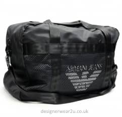 Armani Jeans Holdall with Large Logo