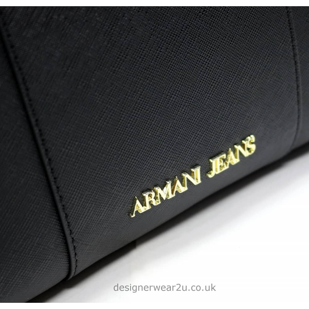 c33052b2a Armani Jeans Ladies Armani Black Small Cross Body and Clutch Bag ...