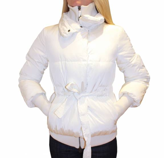 Armani Jeans Ladies White Winter Jacket - Jackets from ...