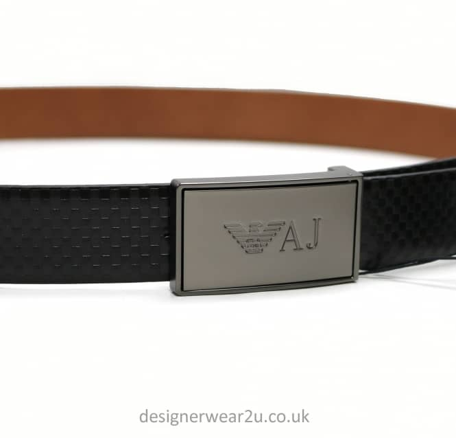 Armani Jeans Armani Jeans Reversible Black Or Brown Belt