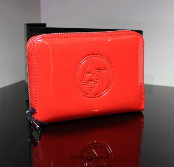 Armani Jeans Ladies Armani Jeans Small Red Patent Purse - Gift Ideas ... 5a5f342a915dd