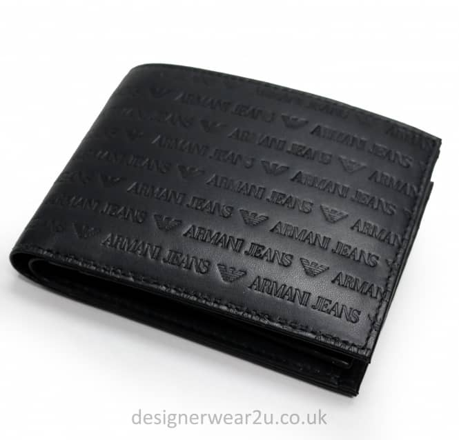 Armani Jeans Armani Jeans Wallet All Over Eagle