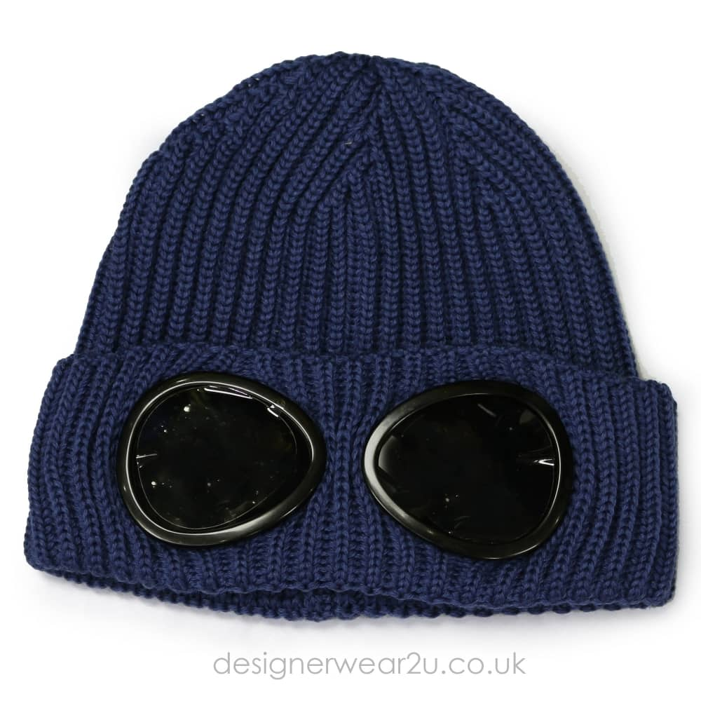 83e0abf16 C.P Company CP Company Airforce Wool Beanie Hat With Goggles