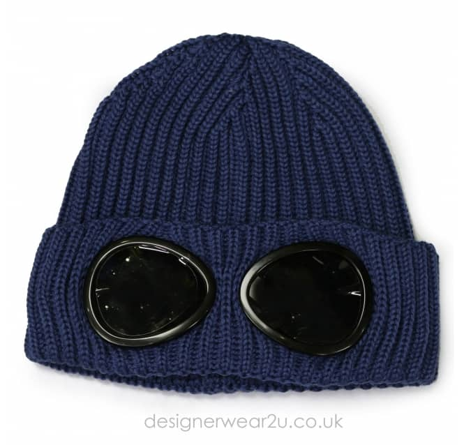C.P Company CP Company Airforce Wool Beanie Hat With Goggles