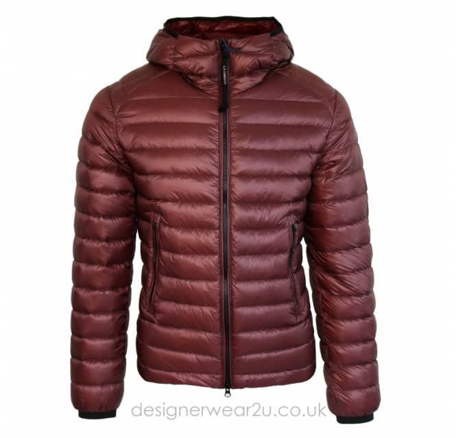 C.P Company CP Company Bordeaux Padded Down Jacket With Goggles