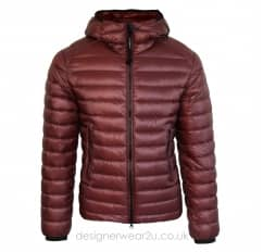 CP Company Bordeaux Padded Down Jacket With Goggles