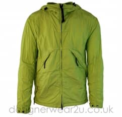 CP Company Green 50.3 Hooded Jacket With Goggles
