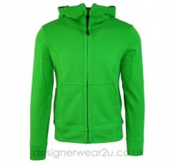 CP Company Green hooded Sweatshirt With Goggles
