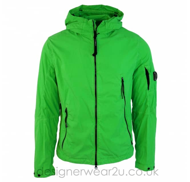 C.P Company CP Company Green Jacket With Arm Lens