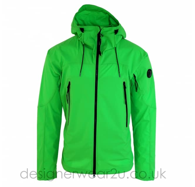 C.P Company CP Company Green Lightweight Pro-Tek Jacket With Arm Lens