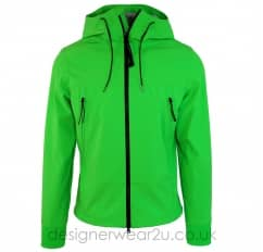 CP Company Green Shell Jacket With Goggles