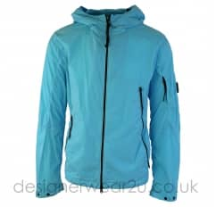 CP Company Light Blue Jacket With Arm Lens