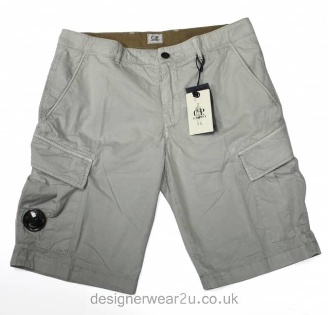 C.P Company CP Company Beige Cargo Shorts