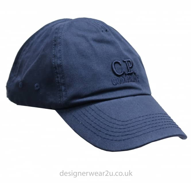 C.P Company CP Company Navy Cap With Embroidered Logo