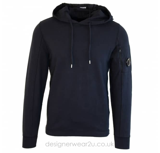 C.P Company CP Company Navy Lightweight Hooded Sweat