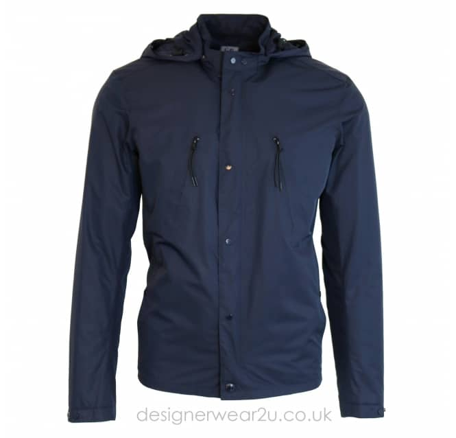 C.P Company CP Company Navy Micro-M Lightweight Hooded Jacket