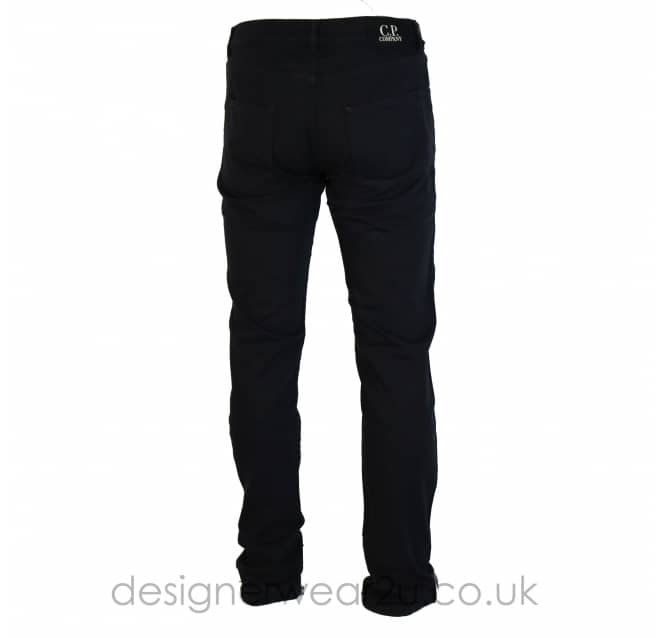 C.P Company CP Company Navy Regular Fitting Cotton Jeans