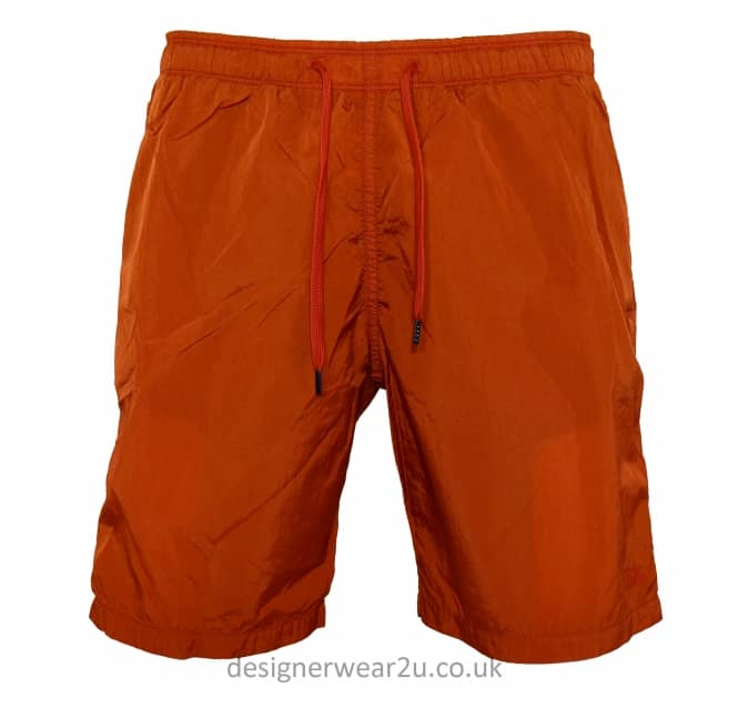 C.P Company CP Company Orange Nylon Swim Shorts