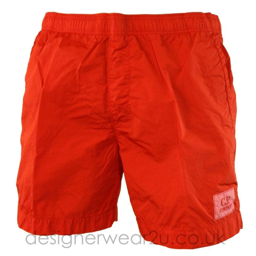 bd183716 CP Company Red Chrome Swim Shorts