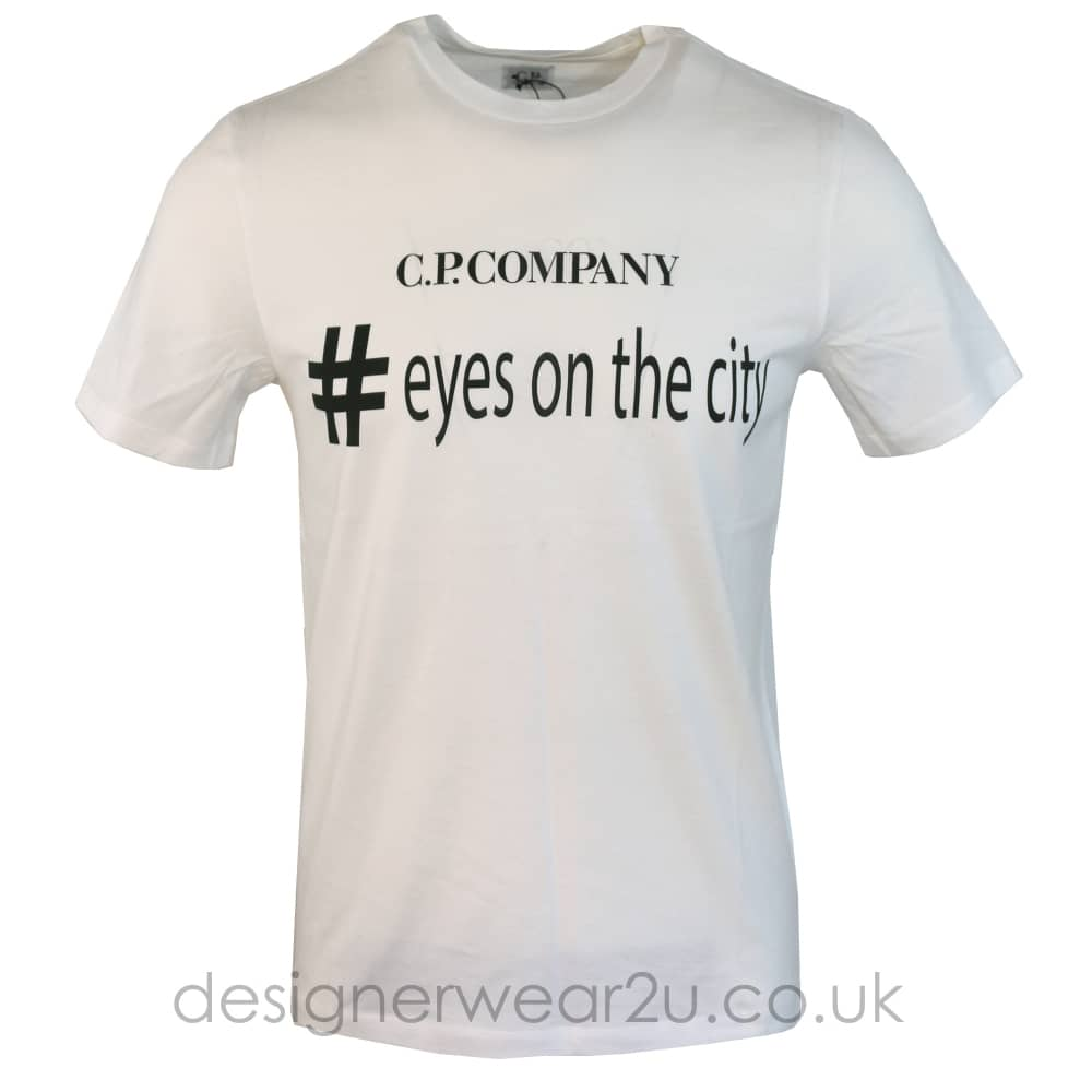 White Eyes on the city t-shirt C.P. Company Discount Sast Enf8l