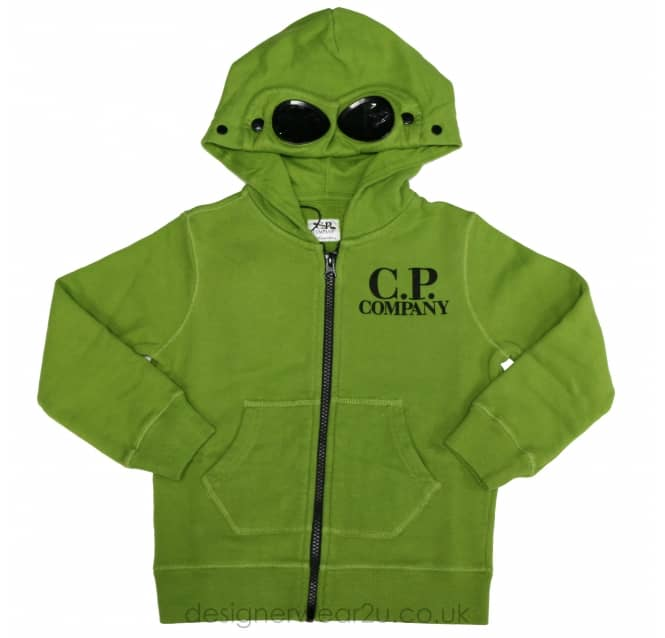 CP Company Undersixteen Kids CP Company Hooded Sweatshirt in Green