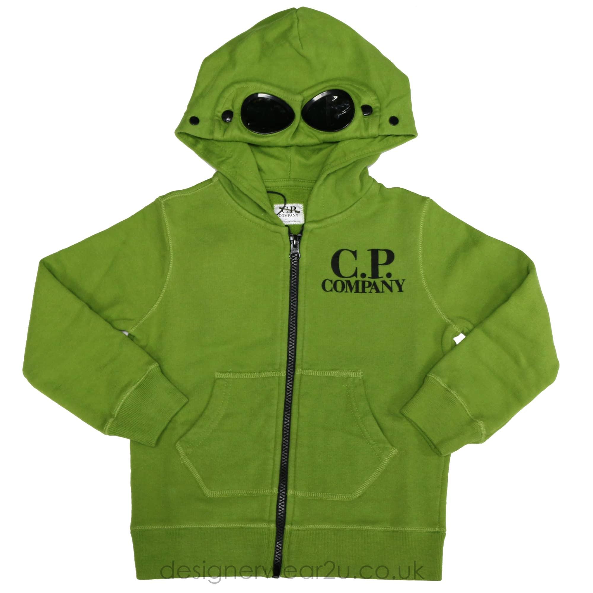 CP Company Undersixteen Kids CP Company Hooded Sweatshirt in Green