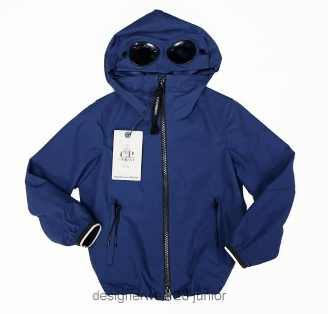 CP Company Undersixteen Kids CP Company Micro-M Goggle Jacket in Blue