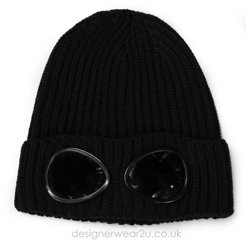 CP Company Undersixteen Kids CP Company Wool Goggle Beanie Hat in ... 9b015f21911
