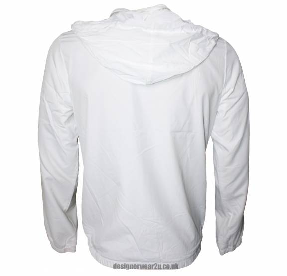 EA7 Emporio Armani White Lightweight Jacket - Jackets from ...