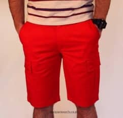 EA7 Red Sea World Bermuda Shorts
