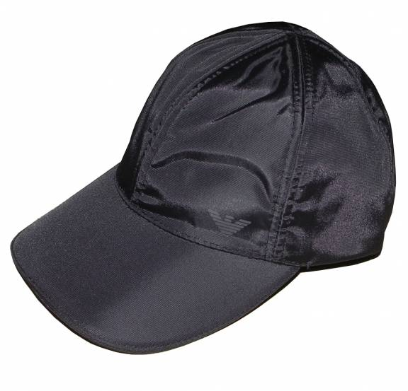 6a8cb5b4b56 EA7 Emporio Armani Black Nylon Baseball Cap - Hats from DesignerWear2U UK