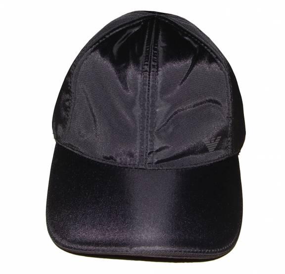EA7 Emporio Armani Black Nylon Baseball Cap - Hats from ... 4314585f0be