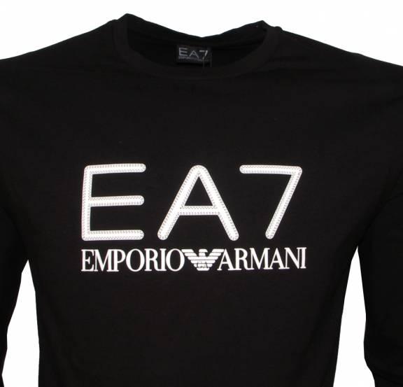 876ac4b11b4f EA7 Emporio Armani EA7 Long Sleeve Black T-Shirt - T-Shirts from ...