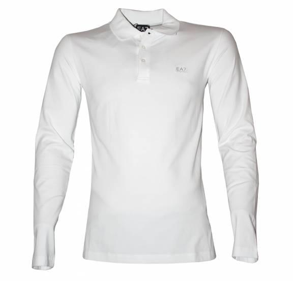 armani white long sleeve t shirt