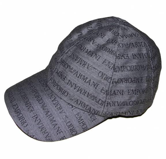 Logo cap - Grey Emporio Armani QBsPvyBCC