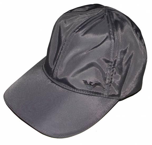 EA7 Emporio Armani Grey Nylon Baseball Cap - Hats from DesignerWear2U UK fe1ece296a4