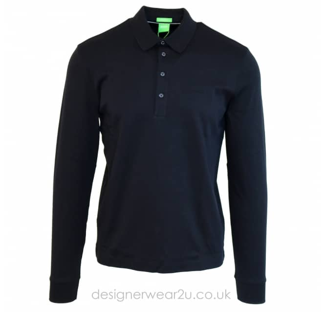 Hugo Boss Hugo Boss Black Paderna Long Sleeved Polo