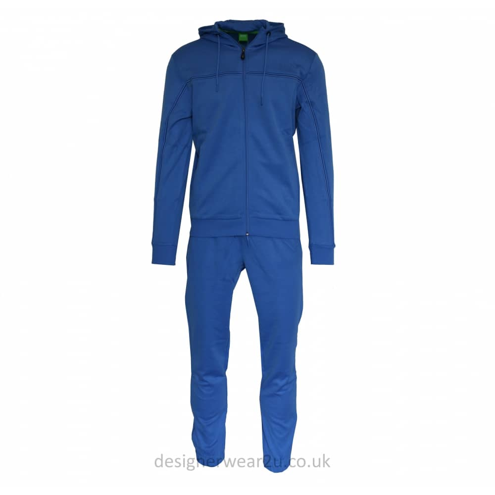 36ede694 Hugo Boss Blue Cotton Tracksuit - Tracksuits from DesignerWear2U UK