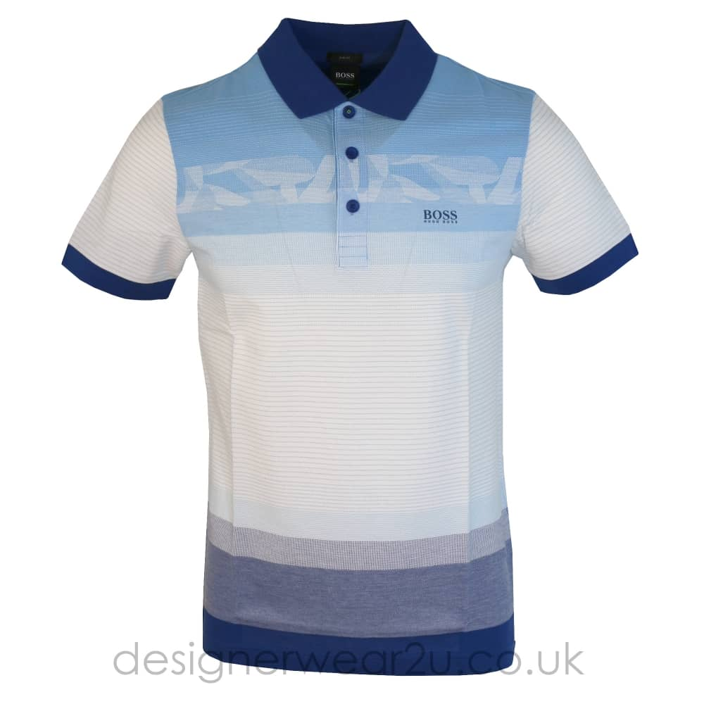 fd053fdf3 Hugo Boss Blue Paule 6 Slim Fit Polo Shirt - Holiday Shop from ...