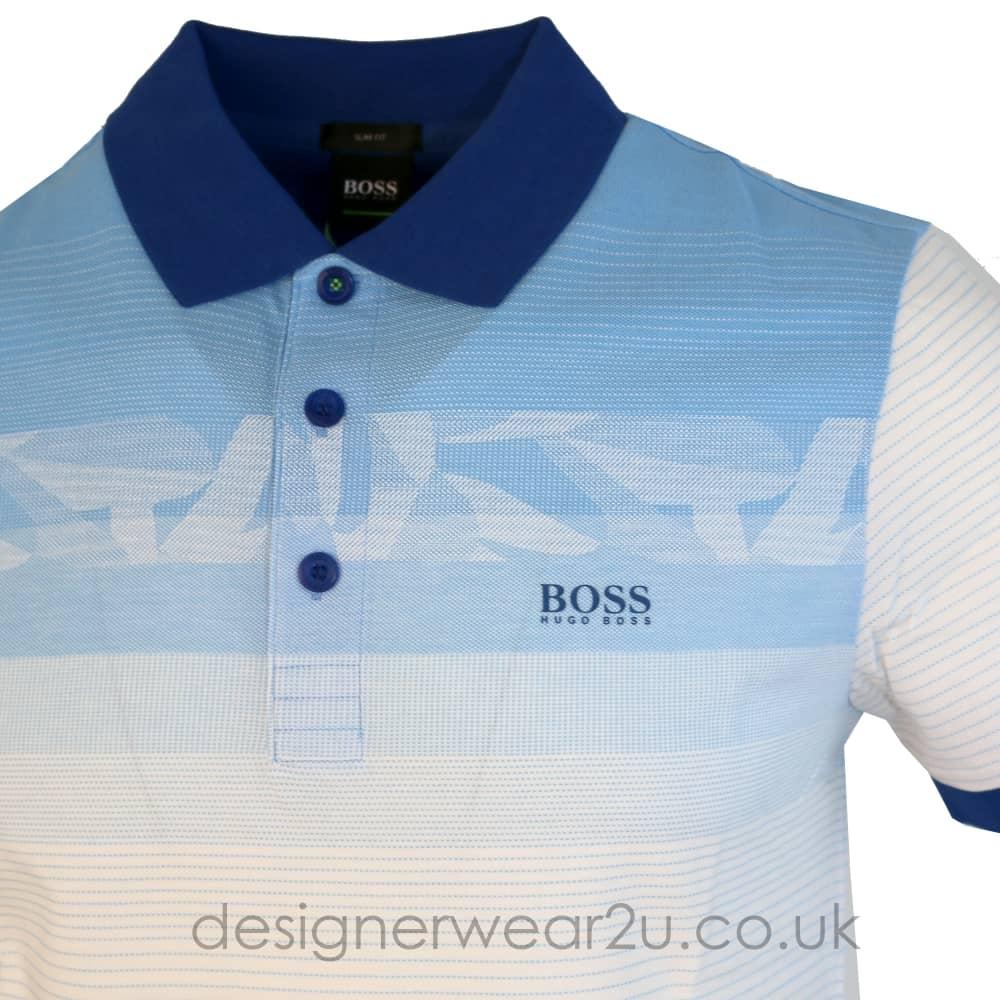 Hugo Boss Blue Paule 6 Slim Fit Polo Shirt