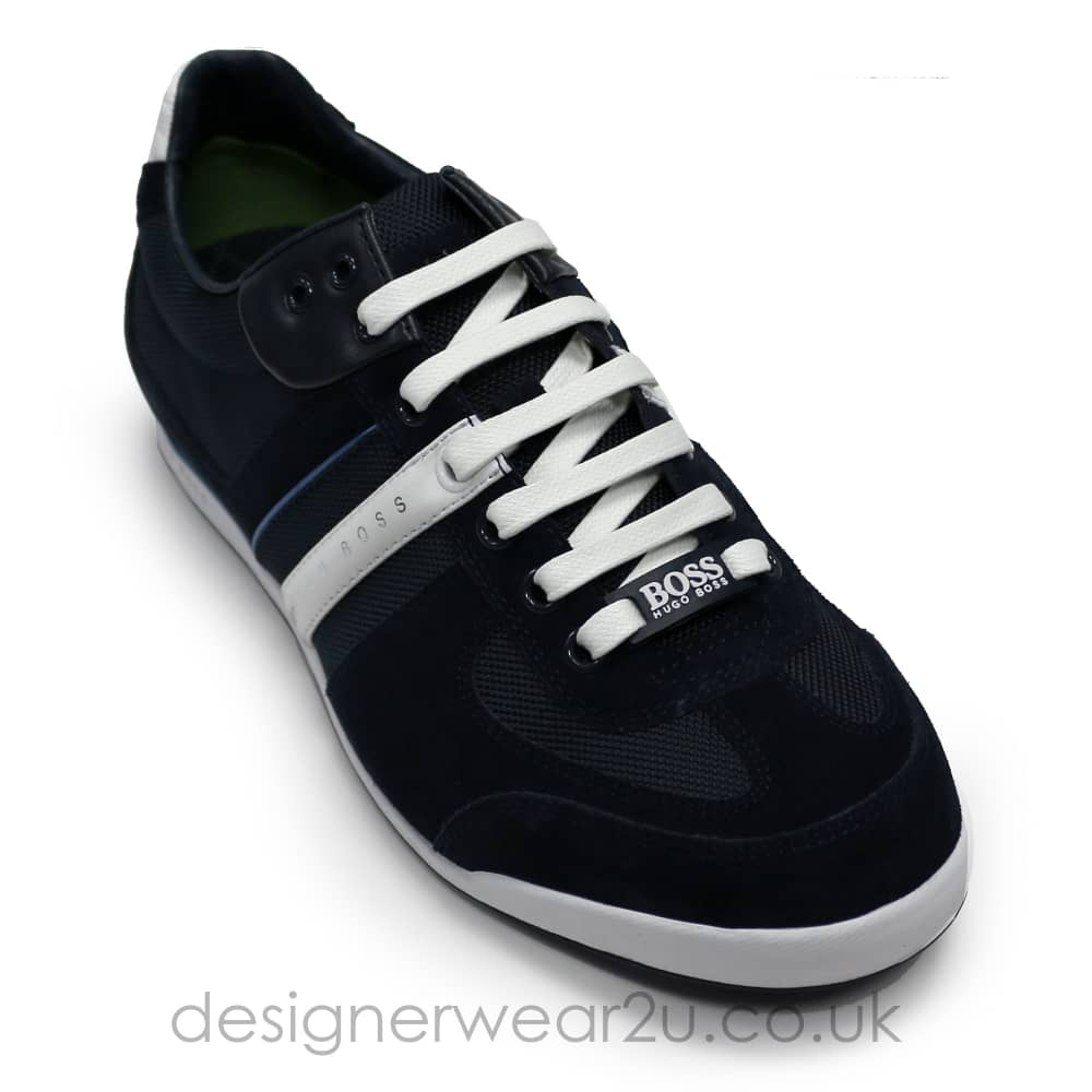 7ab8e07c980 Hugo Boss Dark Blue Akeen Trainers - Footwear from DesignerWear2U UK