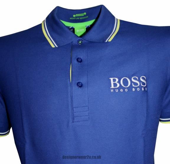 Blue Hugo Boss T Shirt